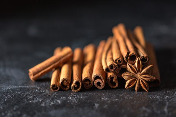 Cinnamon in tea helps fight these cold and flu symptoms: cough and congestion