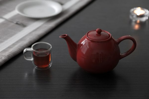 The teapot is the heart of the production. Consider size and ability to retain consistent heat when making your choice.