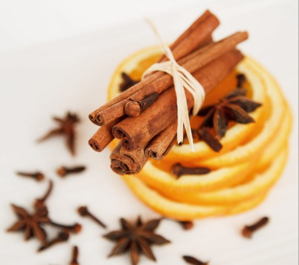 Cinnamon and citrus are winter holiday flavours.